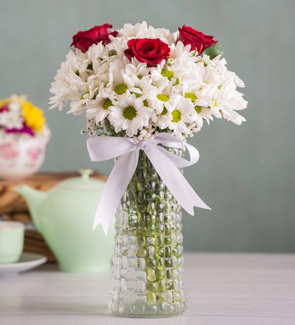 Arkadaşa Çiçek